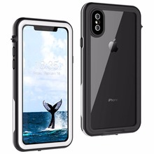 For iPhone X Waterproof case life water Shock Dirt Snow Proof Protection for iPhone X With