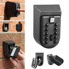 סיטונאי מיני קיר רכוב מפתח בטוח סוד תיבת עם שילוב סיסמא קוד בית מנעול אבטחה מחזיק cassaforte seguridad