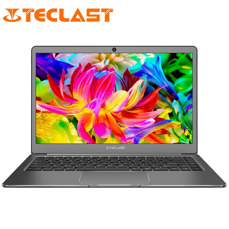 13.3 inch 1920x1080 Teclast F6 Laptops Intel APOLLO LAKE N3450 Quad Core Windows