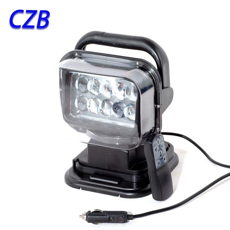 12/24В 50Вт светодиодный рабочий свет 6000K 7 дюймов IP65 водонепроницаемый 30 деже пятно луча света автомобиля внешний свет быстрая доставка СН-001
