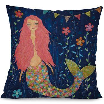 Sweet Mermaid Cushion Covers
