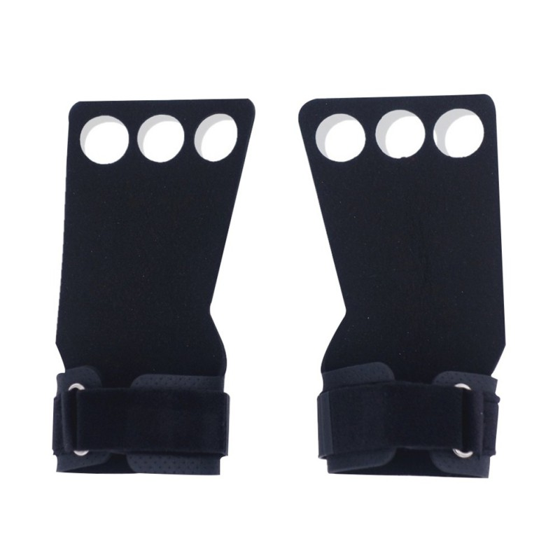 Sport Gloves Silicone Non-slip  Safety Breathable Comfortable Fitness Weight Lifting Training Hand Cuffs Gloves Bodybuilding Gym