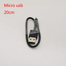Original Xiaomi micro usb short cable black charging sync Data Cable for redmi 2s 3s 4 4x 5 plus 6 pro note 4 4x 5A 5 plus Cord(China)