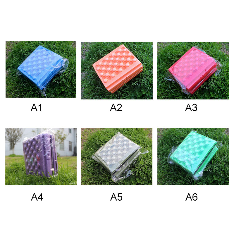 Kid Outdoor Moisture-proof Waterproof Camping Mat Foldable Beach Pad Chair Picnic Mattress