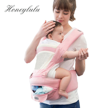 Honeylulu Summer Baby Carrier Hollow Breathable Storage Function Sling For Newborns Ergoryukzak Kangaroo Hipsit
