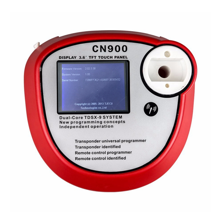Image 2 - New arrival CN900 Auto Key Programmer V2.02.3.38 OEM cn900 obd2 Auto Diagnostic Tool Supports Copy Chips Transponder Indentified-in Auto Key Programmers from Automobiles & Motorcycles on