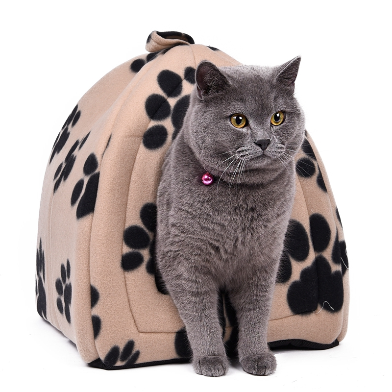 Wholesale Price Cat House And Pet Beds 5 Colors Beige And