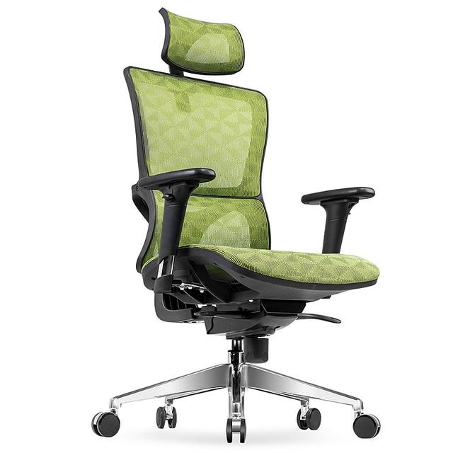Bon Creative Ergonomics Offi Chair Lifted Rotated Leisure Swivel Chair  Household Reclining Net Cloth Computer Chair Gaming Stool