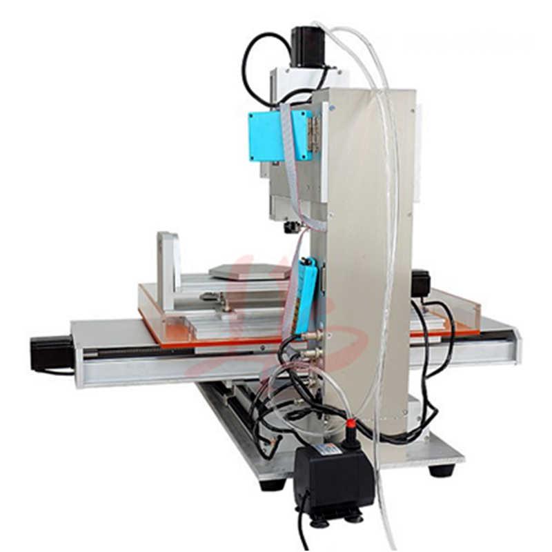 LY CNC 3040 Dọc Loại gỗ phay router 3-5 trục 2200 Wát động cơ trục chính loại cột mini engraver máy