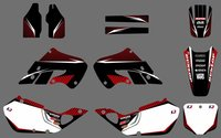 0518 Power NEW STYLE TEAM DECALS GRAPHICS BACKGROUNDS For CR125 CR250 1997 1998 1999