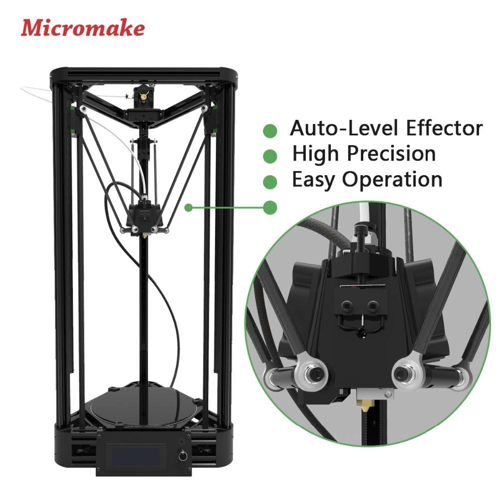 Micromake 3D Drucker Riemenscheibe Version Linearführung DIY Kit ...