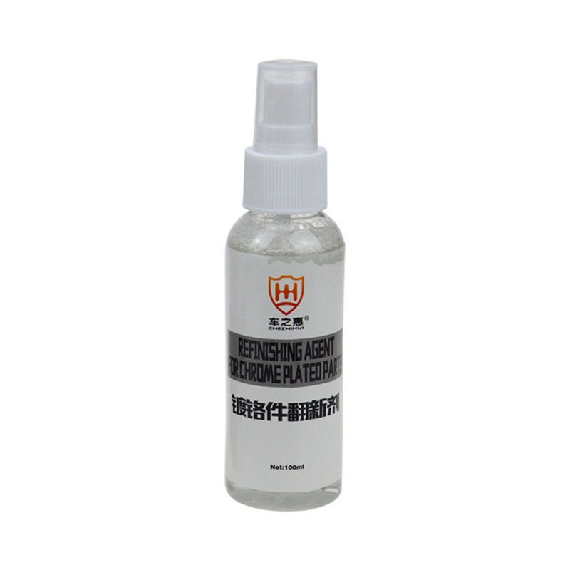 New 100ML Rust Remover for Chromium plated Part Car Surface Polishing Detergent Chrome Cleaner Spray Paint