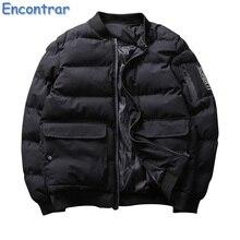 Encontrar Bomber Jacket Men's Fashion Thick Warm Winter 2017 Men Motorcycle Flight Pilot Air Force jacket Men Bomber Coat,QA413