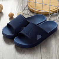 2018 cotton tow men's bathroom new home anti slip room sandal massage comfortable slippers WEI06