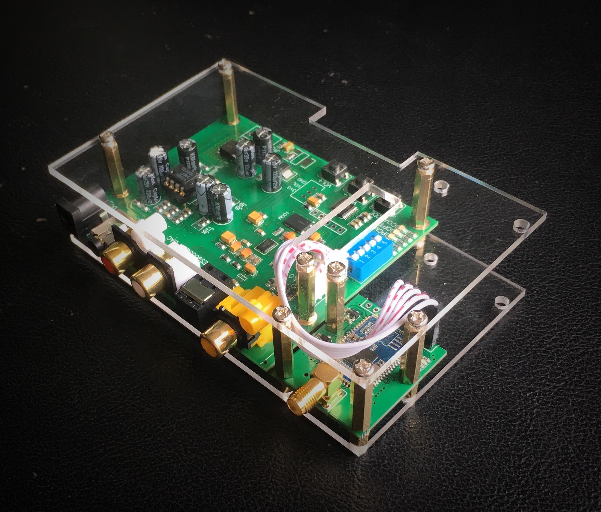 ES9038Q2M DSD I2S SPIDF Decoding Board CSR8675 Aptx-hd Bluetooth 5 Module Set