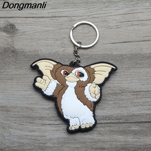 L2997 Gremlins Double sided PVC Pendant Key Chain Car Keychain Keyholder Ring Holder jewelry Gift