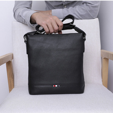 купить BAQI Brand Men Handbags Genuine Leather Cowhide Men Shoulder Bag Crossbody Messenger Bags High Quality 2019 Fashion Business Bag по цене 2507.55 рублей