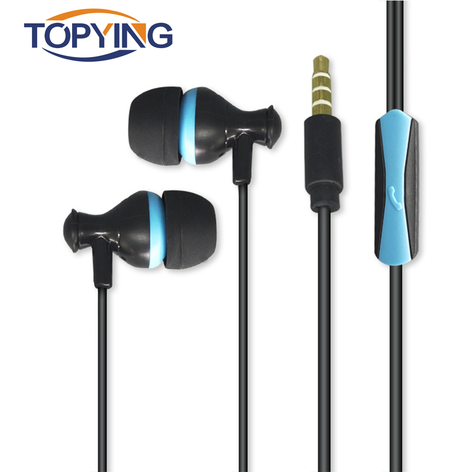 Wired Earphones With Mic 3.5mm Headset Stereo Music In Ear Earbuds For Mobile Phone Andriod Xiaomi PC Gaming