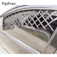 PipiFren Dogs Cars Truck Window Vent Pets Ventilation Lattice Dog Travel Gate Perro Cachorro Chien