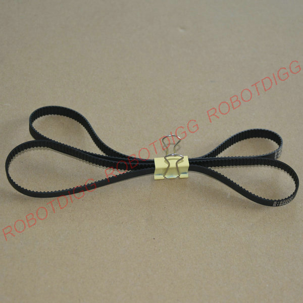 10pcs/lot, MXL Timing Belt, Closed-loop, B180MXL, 3mm 6mm width