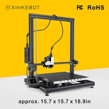 Free Shipping from China XINKEBOT Orca2 Cygnus 3D Printer with Space of 400*400*500mm Impressora 3D