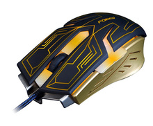 Newest game Mouse Professional 4000 DPI USB Gaming Mouse LED Optical Gaming Mouse Mice for Computer PC Laptop Mause Gamer