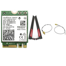Antenna set of ASUS AC88U 8dbi M.2U.fl RP-SMA Cables +  Intel 9260 9260NGW 802.11ac 1730Mbps WiFi Bluetooth 5.0 Card