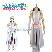 W1083 Kurosaki Ranmaru Stage Cosplay Costume Custom Made Uta No Prince Man White Jacket Pants Fashion Outfit For Adult