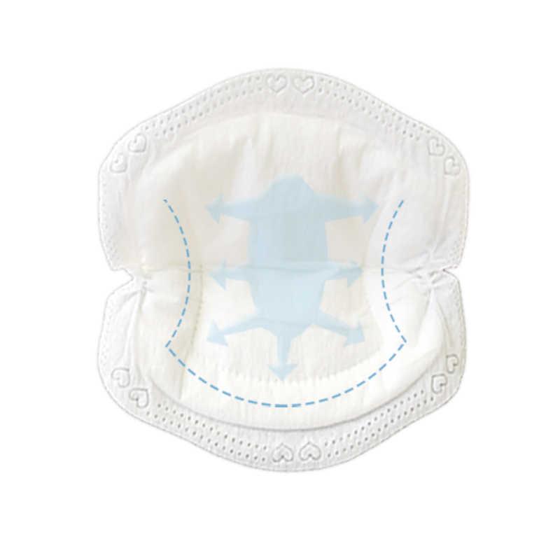 100 قطعة/الحقيبة رقيقة جدا القطن المتاح الثدي ضمادات التمريض تنفس سوبر الامتصاص الأمومة