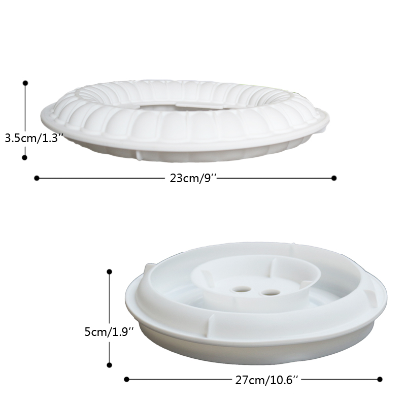 Baking Dish 1 Set Silicone Molds Kit SYMPHONY Ring Cake Mould For Chocolate Gelato Dessert Mold Sponge Decorating Tools Pan in Cake Molds from Home Garden