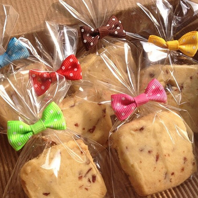 100 Pcs Trong Suốt Phẳng Túi Nhựa Nhỏ Kẹo Lollipop Cookies Bao Bì Giấy Bóng Kính Túi Wedding Party Trang Trí Món Quà Túi-
