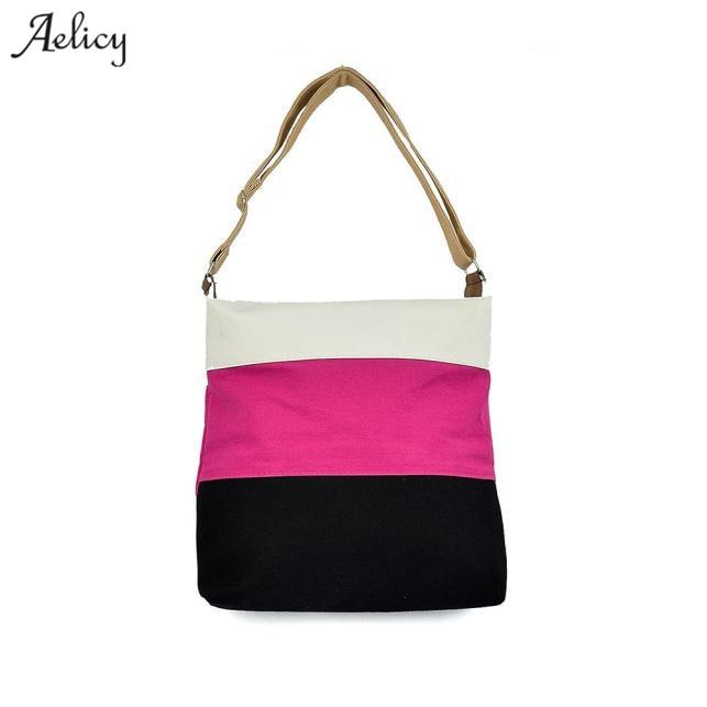 Dropshipping  SALE @Ms. Bucket Smile Larger Capacity Simple Bag Messenger Shoulder Bag Handbag Bolsa Feminina