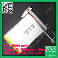 SafetyPacking(Lavel4) 3.7v 5000mAH 3098142 32100140 35100145 Li-ion battery for tablet pc 9.7 inch 10.1 inch speaker 3.0*100*145
