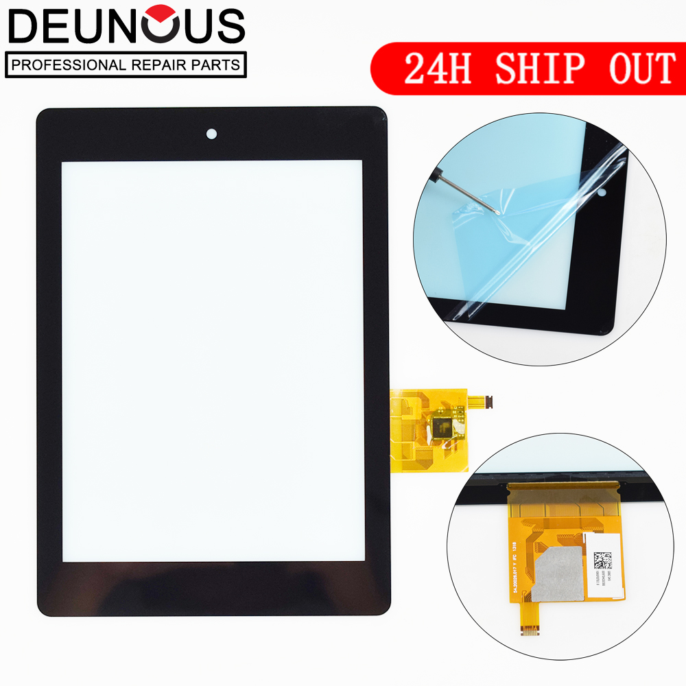 New 7.9'' Inch Touch Screen panel Digitizer Glass For Acer Iconia Tab A1 810 A1-810 A1-811 Black Free Shipping 5pcs lot high quality 7 9 for acer iconia a1 830 a1 830 25601g01nsw touch screen sensor tablet digitizer panel front glass lens