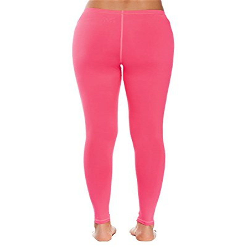 Womens Middle Waist Tights Pants Lycra Spandex Zentai Pants
