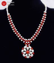 Ожерелье женское из натурального жемчуга 5 6 мм