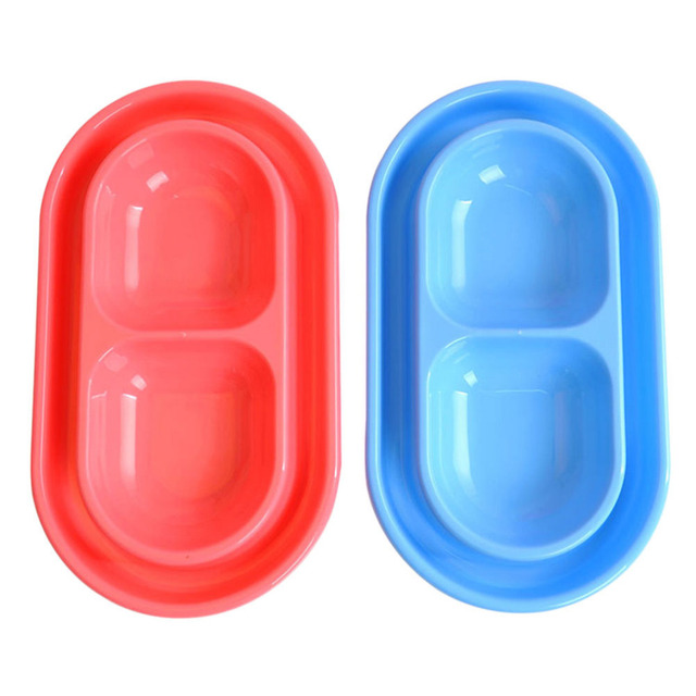 Plastic Double Pet Bowls