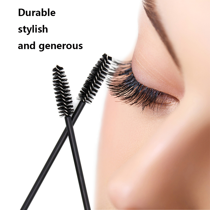 Beauty & Health Generous Hottest 50pcs One-off Disposable Eyelash Brush Mascara Makeup Applicator Wand Makeup Brushes Make Up Brushes Beauty Tools