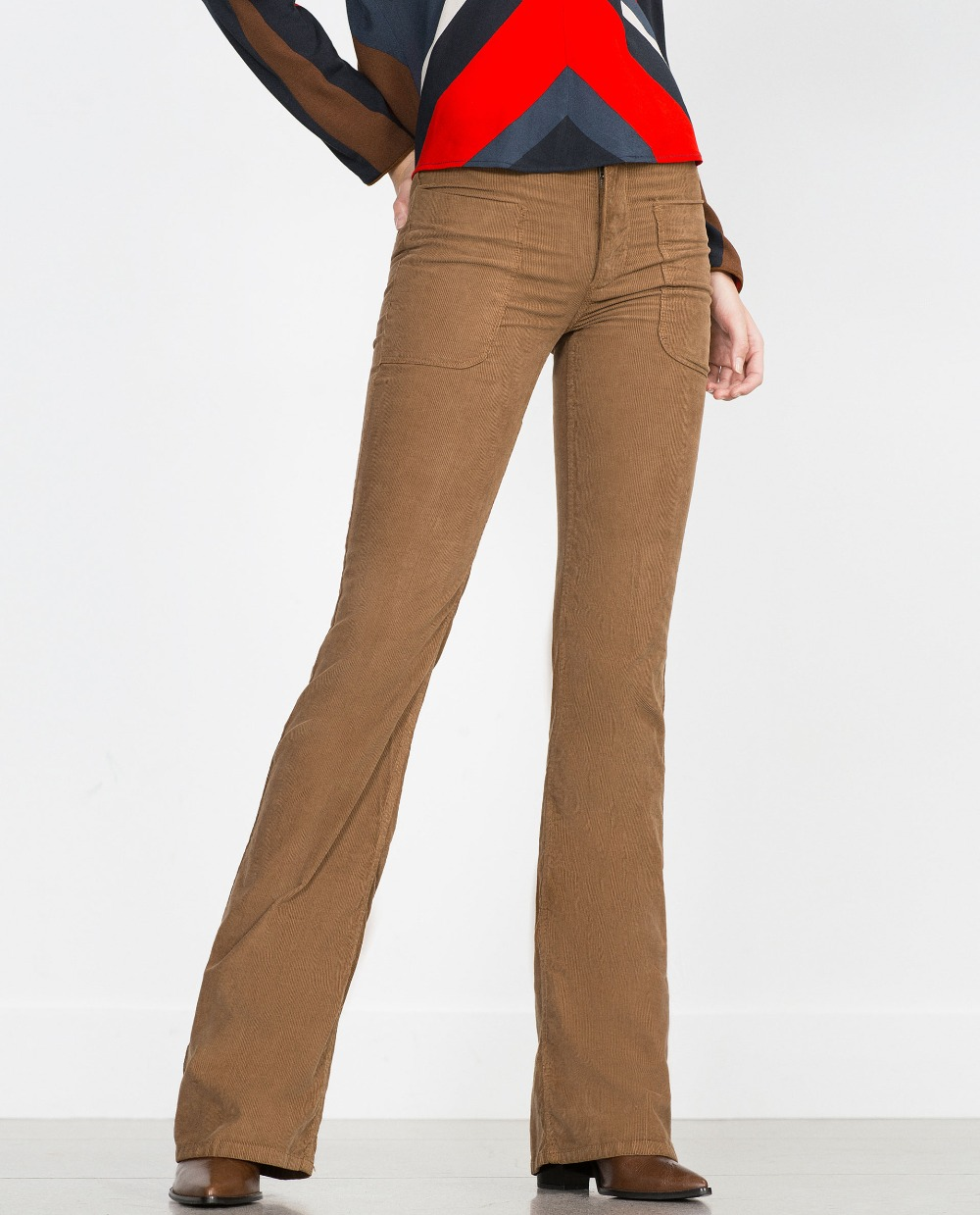 Popular Flare Khaki Pants-Buy Cheap Flare Khaki Pants lots from ...