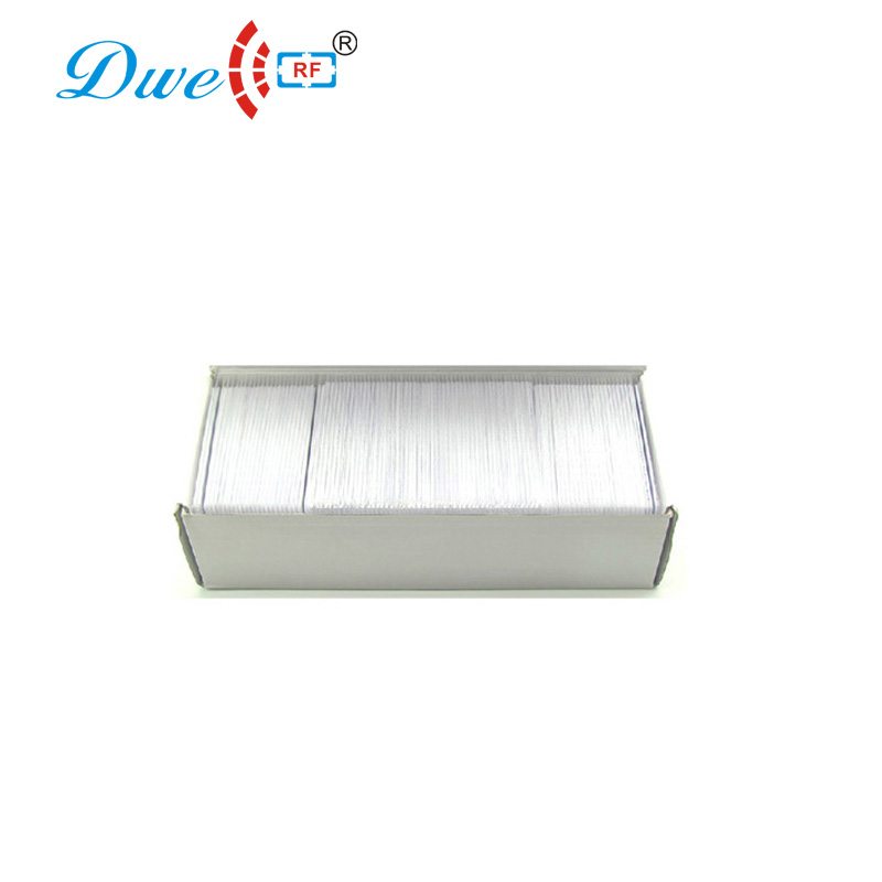 DWE CC RF Access Control Card door duplicator keys 0.8mm tag rfid label duplicator key
