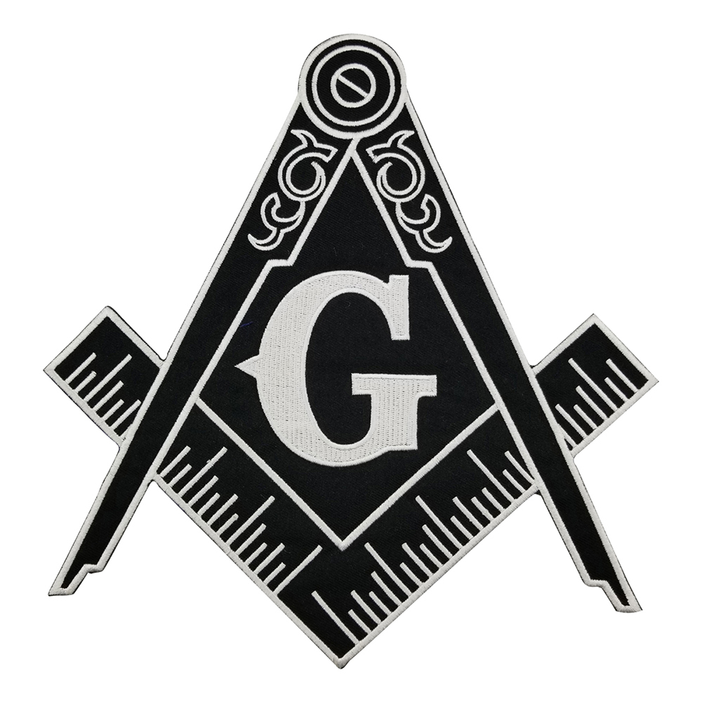 Black G Free Shipping Clothes Accessories Biker Vest Iron On Embroidered Back Patches Iron On Sew On Women DIY Clothes Sticker