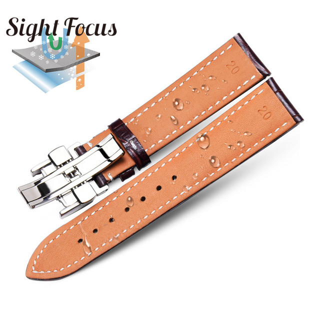 Calfskin Watch Band for Longines Masters Collection Watch Strap Belts Bracelets Cowhide Leather 14 15 18 19 20 21 22mm Strap Men