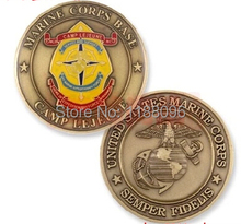 Top Quality antique coins American Eagle medals Metal Crafts Wholesale both side paint US military coins
