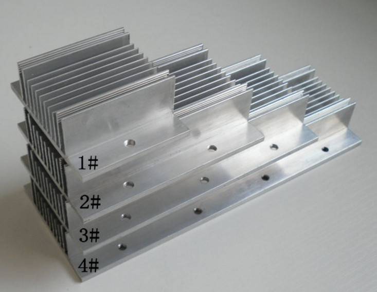 Aluminum Heatsink Cooling Fin 45mm x 45mm x 10mm for CPU RAM