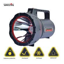 Warasu 100 Вт высокое Мощность Водонепроницаемый Перезаряжаемые Портативный LED света ручной поиск Spotlight кемпинг охоты рыбалки фонарь