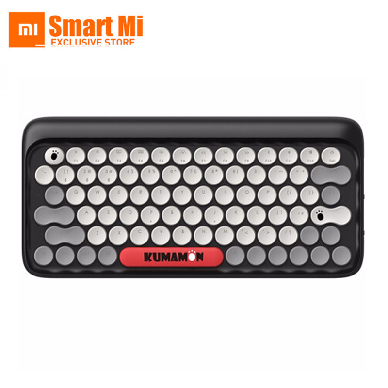Xiaomi LOFREE Dot Retro Bluetooth Mechanical Keyboard System-wide Use Green Axis 79 Key Keyboard Adjustable Brightness