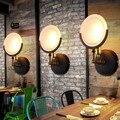 Nordic Industrial Retro Restaurante Corredor Escadas Lâmpada de Parede Personalidade Criativa Arte Bar Sala de estar Lâmpada de Parede de Ferro Frete Grátis