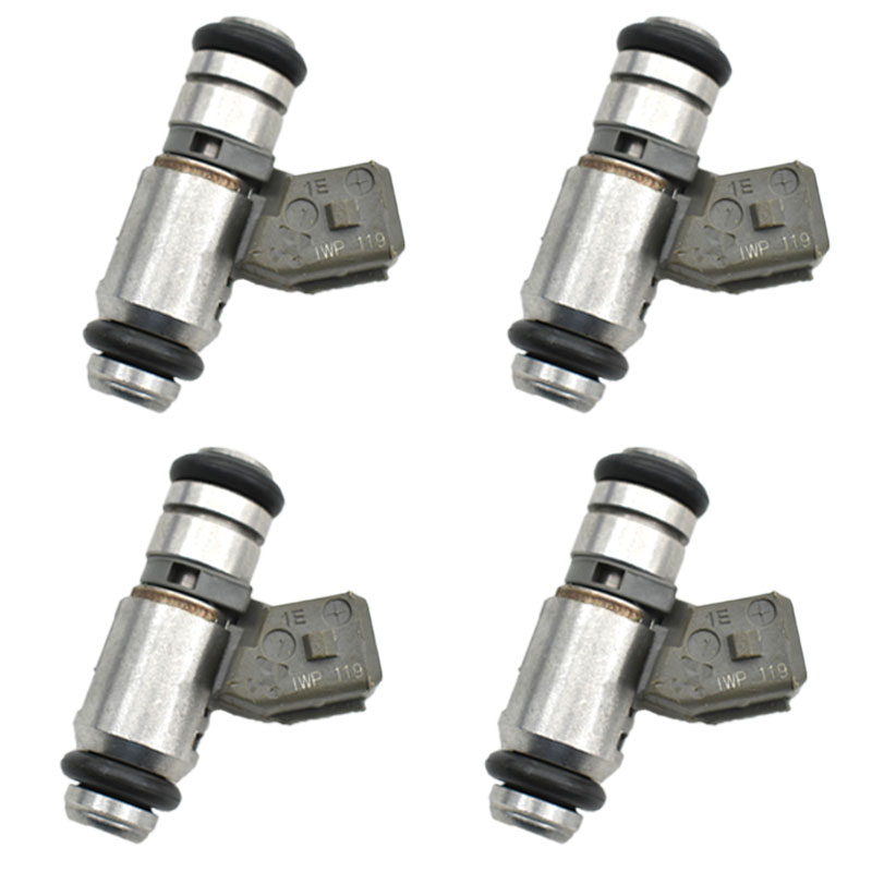 4ps lot Fuel Injector 2N1U9F593KA IWP119 LFI019 For Fiesta KA 1 3i 2001 2002 2003 2004