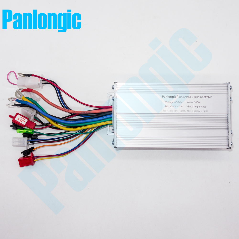 Electric Bicycle E-bike Scooter Brushless DC Motor Speed Controller DC 48V 500W