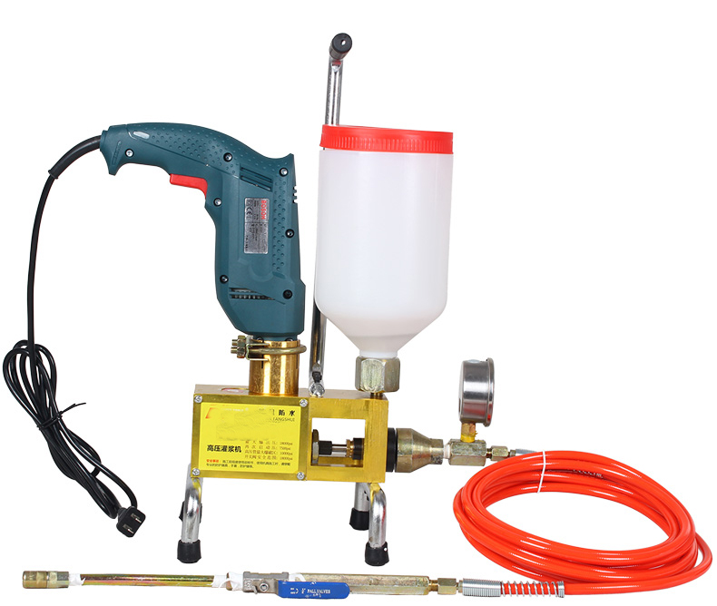Polyurethane, epoxy resin, acrylic resin wall concrete,Electric high  pressure pouring machine filling sealing grouting tool